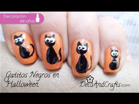 Uñas decoradas Gatitos // kittens nails