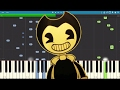 Bendy And The Ink Machine Song Build Our Machine DA Games Piano Tutorial Cover mp3