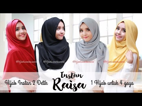 Video jilbab instan kiyora