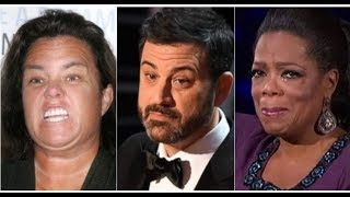 AS KIMMEL VOWS TO BASH TRUMP AT OSCARS HIS SICK OPRAH & ROSIE SECRET COMES OUT!
