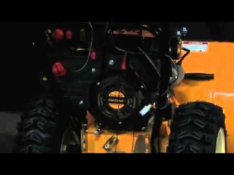 Cub Cadet Snow Thrower Product Training