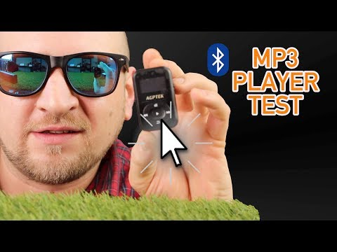 BLUETOOTH MP3 PLAYER DEUTSCH TEST AGPTEK A26 🤩