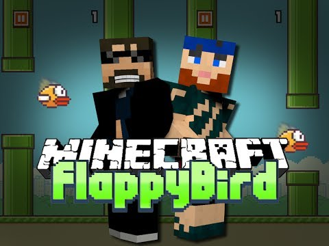 Minecraft FLAPPY BIRD MINI GAME - THE BET IS ON