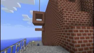 Super Minecraft 64 - Whomp's Fortress built in Minecraft