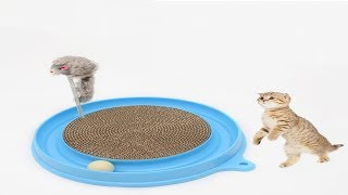 Scratcher Cat Toy With Mouse