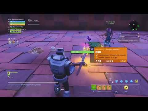 BULLET CHAIN HYDRA GIVEAWAY & 130 God Rolls Fortnite Save The World