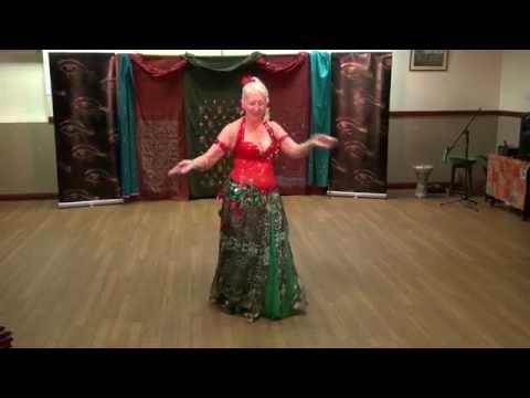 Sandra Belly Dancer Hull Entrance Piece