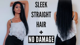 How To Get Sleek Straight Hair 3GP Mp4 HD Video Download