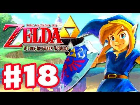 The Legend of Zelda: A Link Between Worlds - Gameplay Walkthrough Part 18 - Hyrule Hotfoot (3DS)