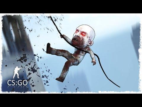 СЕКРЕТНОЕ ЛОГОВО ЖУТКОГО ЗОМБИ МАНЬЯКА В CS:GO!!! (СМЕШНЫЕ МОМЕНТЫ В КС:ГО)