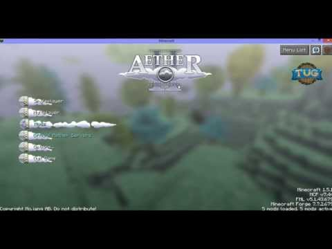 How to Install the Aether 2 Mod on 1.5.2 EASY
