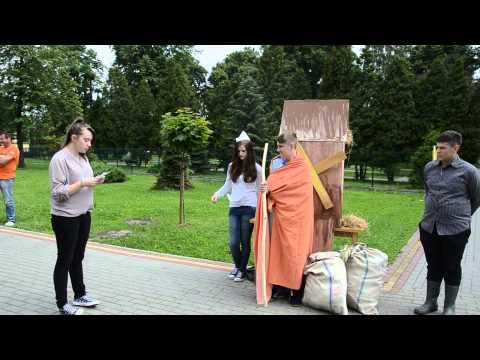 Legendy regionalne - teatr uliczny Biblioteka Brzesko 4.06.2014 Legenda