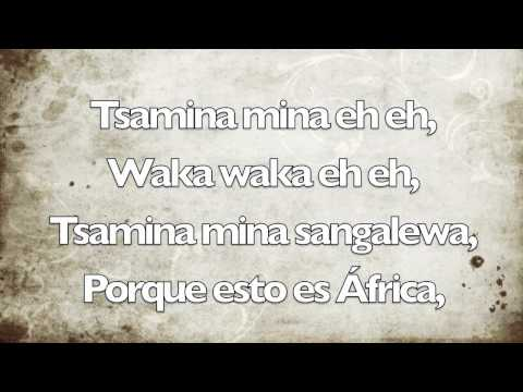 Shakira - Waka Waka ( Esto Es África )