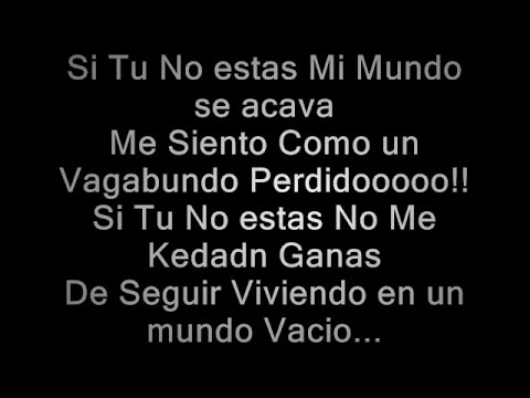 Pipe Calderon Ft Juno The Hitmaker - Si Tu No Estas Letra