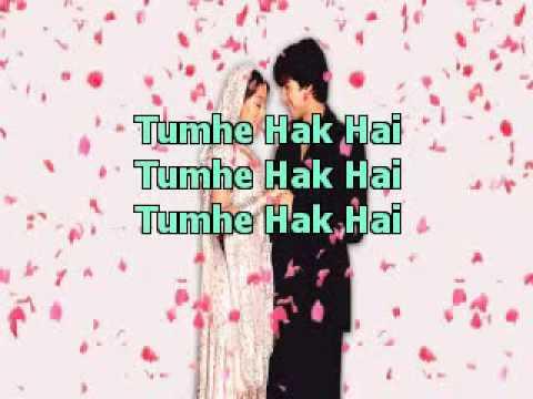 Mujhe Haq Hai VivahHIndi Karaoke Latest   YouTube
