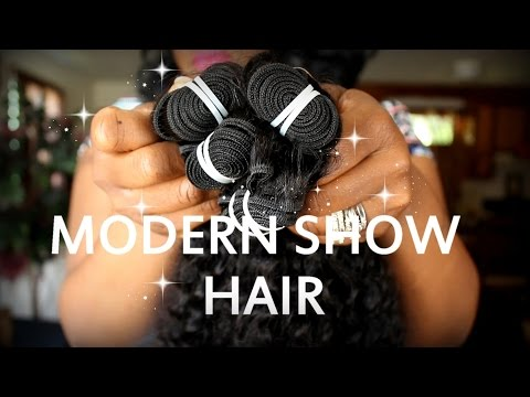 MODERN SHOW HAIR | Malaysian Curly | First Look