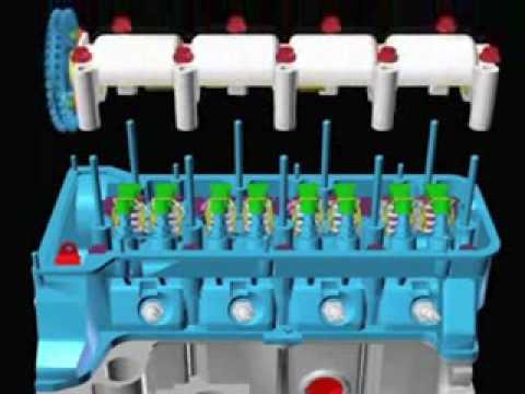 Ford El Paso >> despiece del motor de un automovil - YouTube