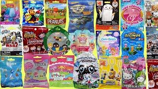 Blind Bags Opening Toys Paw Patrol Marvel Tsum Tsum Peanuts Lalaloopsy Disney Trolls Care Bears TOY