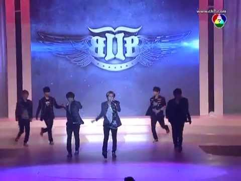 Btob-born To Beat + Insane At Thailand Supermodel Contest (121213) video