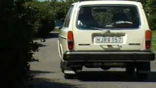 Volvo 140 -en jämförelse av första och sista årsmodellen.