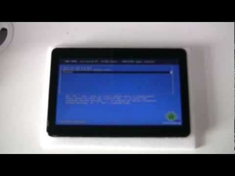 Windows 8 + Android 4.0 ICS Dual Boot on WinSlate One Tablet