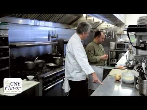 Artichoke crusted salmon & a $15 Valentine table - CNY Flavor 2/14/2012
