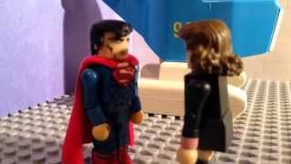 the superman chronicles ep 2 superman the movie man of steel minimates stop motion lego