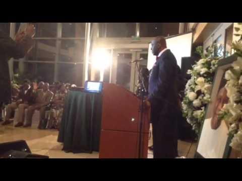 Ambassador Adefuye tribute by pastor Ghandi Olaoye