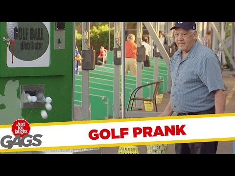 Annoying Golf Ball Machine Prank