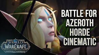 Battle For Lordaeron Horde cinematic - World of Warcraft Battle For Azeroth