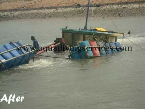Aqua Diving Services - KESC Dredger Refloat