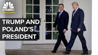 President Trump and Poland's President hold a joint news conference — 06/12/2019