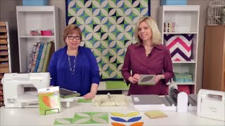 Orange Peel Zest Quilting Tutorial - GO! Orange Peel Zest Quilt
