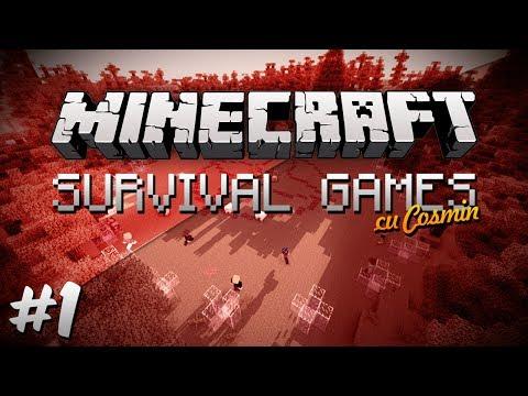 Minecraft: Survival Games - Episodul 1 // Minecraft Romania