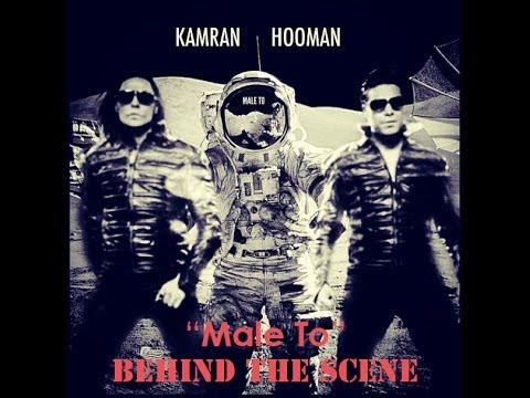 Kamran & Hooman Official male To  Behind The Scene video
