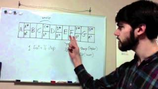 Music Theory Basics for Guitar Lesson 1 The Musical Alphabet