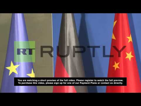 Germany: China will not mix in other states' internal affairs says Xi Jinping