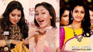 What is Inside Celebs Handbag? | Priyanka | Sayesha | Priya Bhavani Shankar