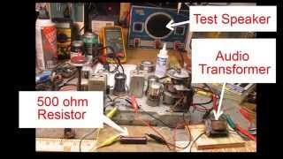 Replacing a Field Coil Speaker