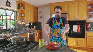 Getting Schooled on Pasta Puttanesca with Ian Hecox | Sunday at Nana's