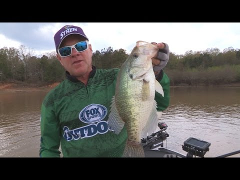 FOX Sports Outdoors SOUTHWEST #24 - 2015 Grenada Lake, Mississippi Crappie Fishing