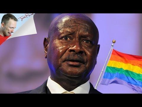 UGANDAN ANTI-GAY LAWS EAT DA POO POO