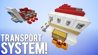 Minecraft: Smart Item Transportation System