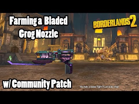 Borderlands 2: Farming Gold Golem for Grog Nozzle