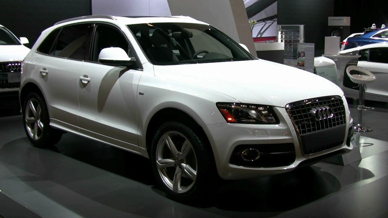 2012 audi q5 exterior and interior at 2012 montreal auto. Black Bedroom Furniture Sets. Home Design Ideas