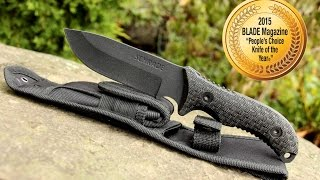 NEW! Schrade SCHF36 Full Tang Fixed Blade Knife – Best Full Tang Survival Knife