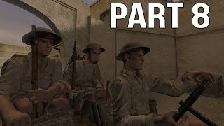 Call of Duty 2 Gameplay Walkthrough Part 8 - British Campaign - Rommel's Last Stand