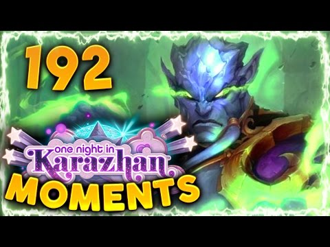 Hearthstone Karazhan Daily Funny and Lucky Moments Ep. 192 | Saved by Prince Malchezaar!!