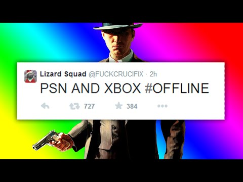 XBOX LIVE & PSN SERVERS OFFLINE CHRISTMAS DAY - Lizard Squad Attack Xbox Live & PSN Servers!