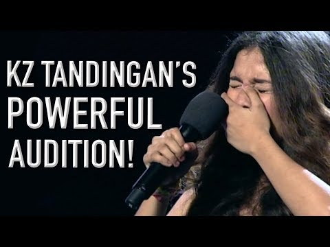 KZ Tandingan WOWS The Crowd With Her First X Factor Audition!   X Factor Global